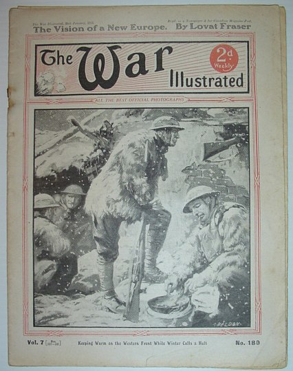Image for The War Illustrated - Part 180: 26 January 1918 - The Vision of a New Europe