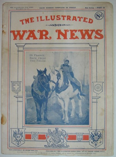 Image for The Illustrated War News - Part 81, December 26, 1917