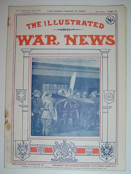 Image for The Illustrated War News: November 28, 1917 - Part 77