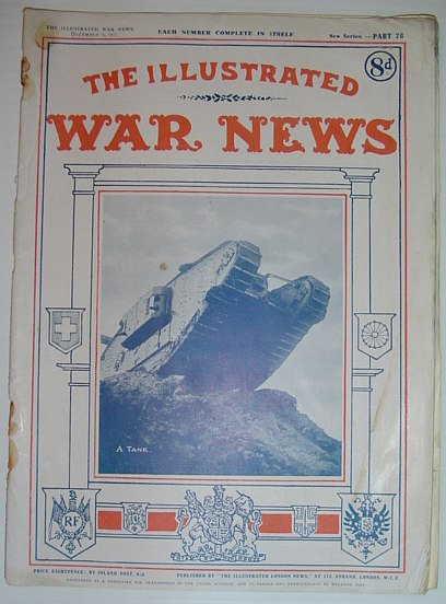 Image for The Illustrated War News: December 5, 1917 - Part 78