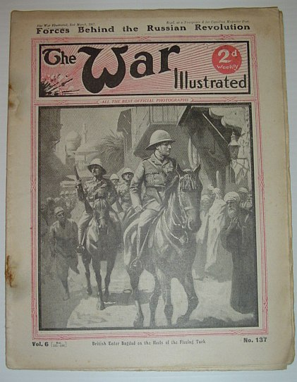 Image for The War Illustrated - No. 137: Forces Behind the Russian Revolution