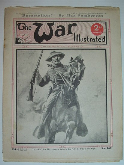 Image for The War Illustrated - 21 April 1917: No. 140