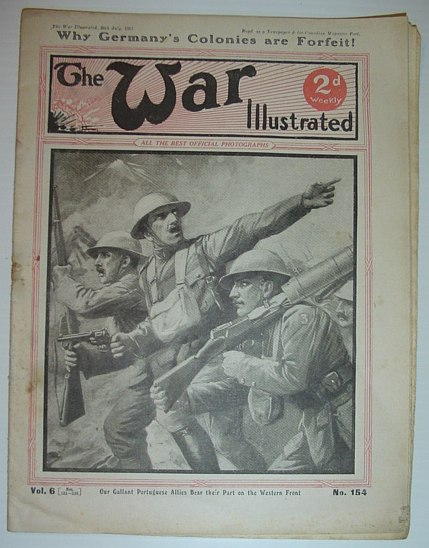 Image for The War Illustrated - 28 July 1917: No. 154