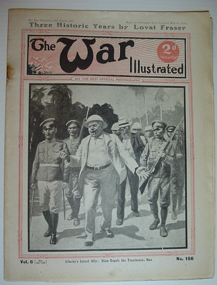 Image for The War Illustrated - 11 August 1917: No. 156