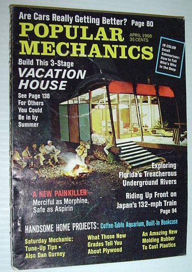 Image for Popular Mechanics, April 1968