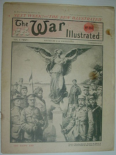 Image for The War Illustrated, No. 234 - 8 February 1919