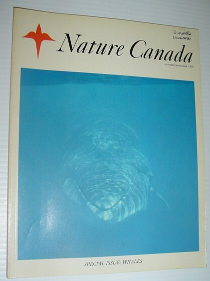 Image for Nature Canada Magazine - October/December 1973 *SPECIAL ISSUE - WHALES*
