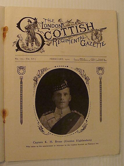 Image for The London Scottish Regimental Gazette, No. 170, Vol. XV, February 1910
