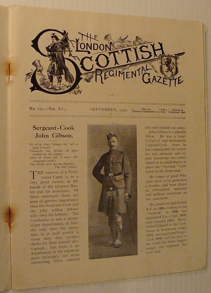 Image for The London Scottish Regimental Gazette, No. 177, Vol. XV, September 1910