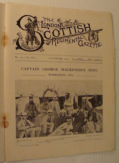 Image for The London Scottish Regimental Gazette, No. 179, Vol. XV, November 1910
