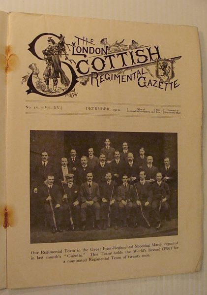 Image for The London Scottish Regimental Gazette, No. 180, Vol. XV, December 1910