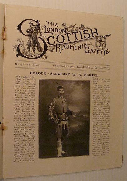 Image for The London Scottish Regimental Gazette, No. 158, Vol. XIV, February 1909