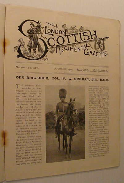 Image for The London Scottish Regimental Gazette: No. 166 - Vol. XVI, October 1909