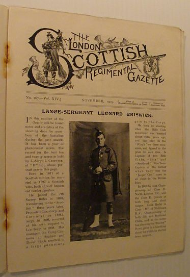 Image for The London Scottish Regimental Gazette: No. 167 - Vol. XIV, November 1909