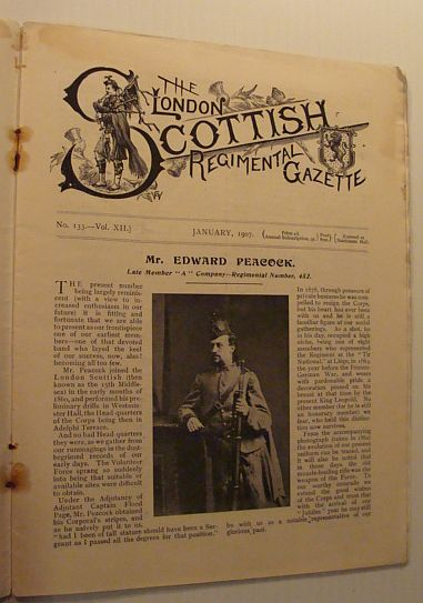Image for The London Scottish Regimental Gazette: No. 133 - Vol. XII, January 1907