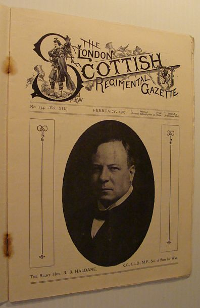 Image for The London Scottish Regimental Gazette: No. 134 - Vol. XII, February 1907