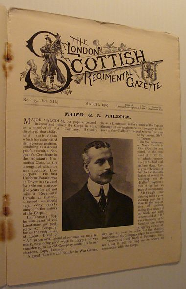 Image for The London Scottish Regimental Gazette: No. 135 - Vol. XII, March 1907