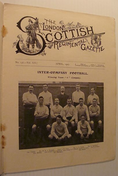 Image for The London Scottish Regimental Gazette: No. 136 - Vol. XII, April 1907
