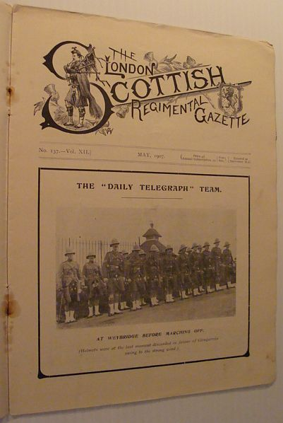 Image for The London Scottish Regimental Gazette: No. 137 - Vol. XII, May 1907
