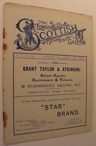 Image for The London Scottish Regimental Gazette: No. 141 - Vol. XII, September 1907