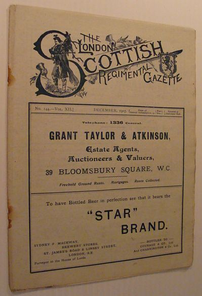 Image for The London Scottish Regimental Gazette: No. 144 - Vol. XII, December 1907