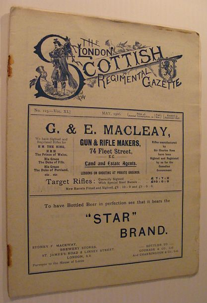 Image for The London Scottish Regimental Gazette: No. 125 - Vol. XI, May 1906