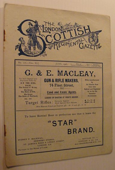 Image for The London Scottish Regimental Gazette: No. 126 - Vol. XI, June 1906