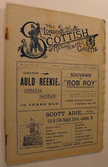 Image for The London Scottish Regimental Gazette: No. 109 - Vol. X, January 1905