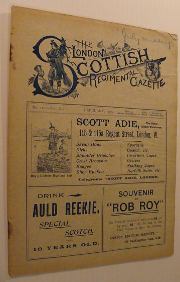 Image for The London Scottish Regimental Gazette: No. 110 - Vol. X, February 1905