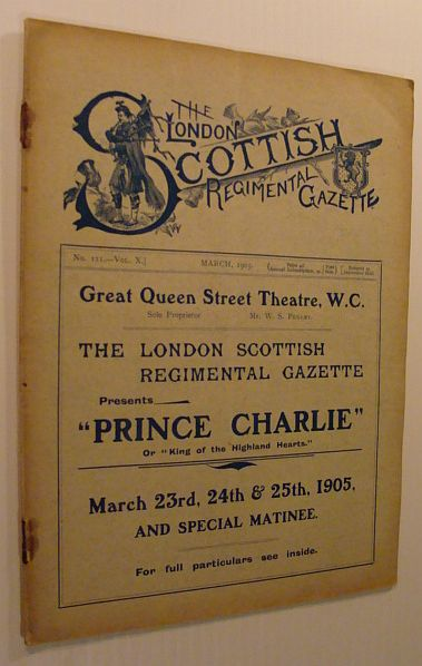 Image for The London Scottish Regimental Gazette: No. 111 - Vol. X, March 1905