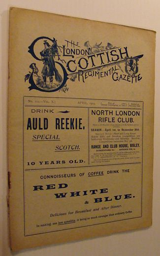 Image for The London Scottish Regimental Gazette: No. 112 - Vol. X, April 1905