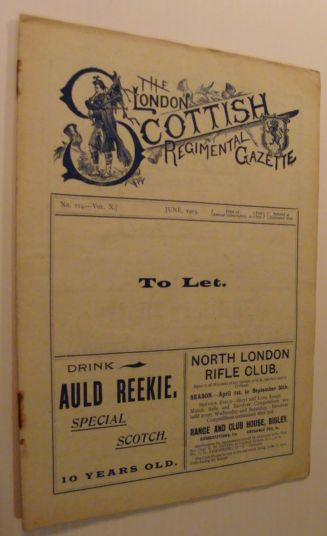 Image for The London Scottish Regimental Gazette: No. 114 - Vol. X, June 1905