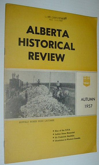 Image for Alberta Historical Review: Vol. 5, Autumn 1957, No. 4