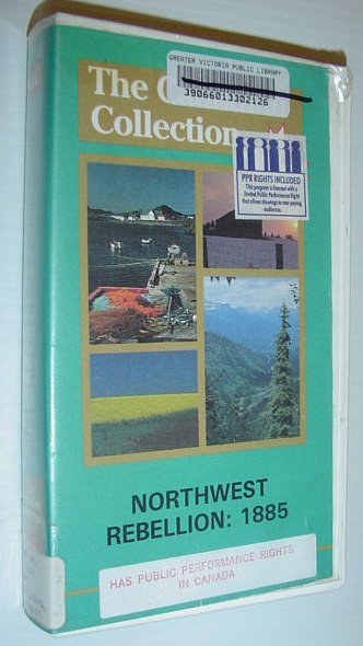 Image for Northwest Rebellion: 1885 - 17 Minute VHS Video Tape in Case
