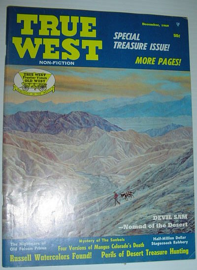 Image for True West Magazine, December 1969 *SPECIAL TREASURE ISSUE*