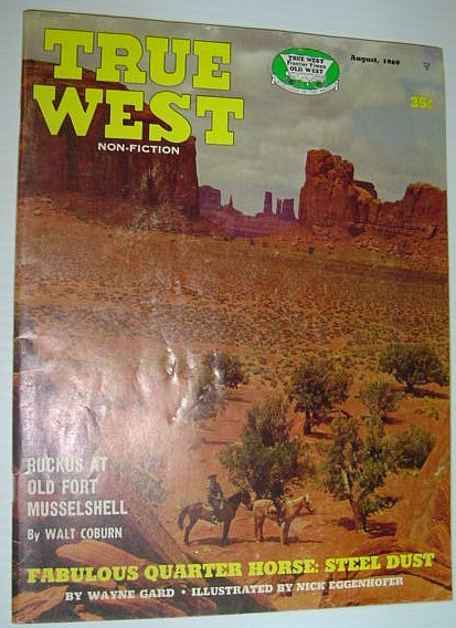 Image for True West Magazine, August 1969