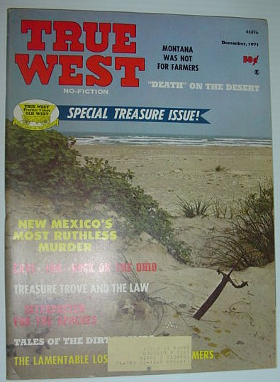 Image for True West Magazine: December 1971 *Special Treasure Issue*