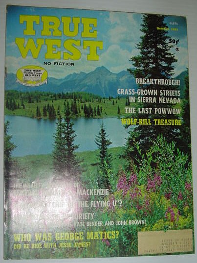Image for True West Magazine: October 1971