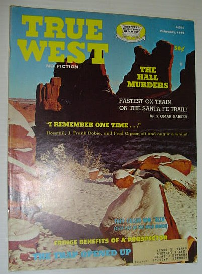 Image for True West Magazine, February, 1973