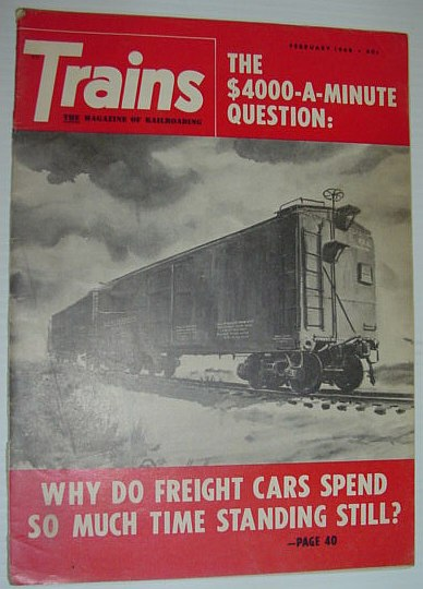 Image for Trains - The Magazine of Railroading: February 1968