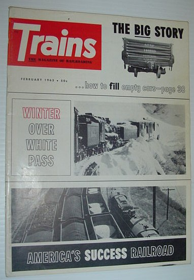 Image for Trains - The Magazine of Railroading: February 1963