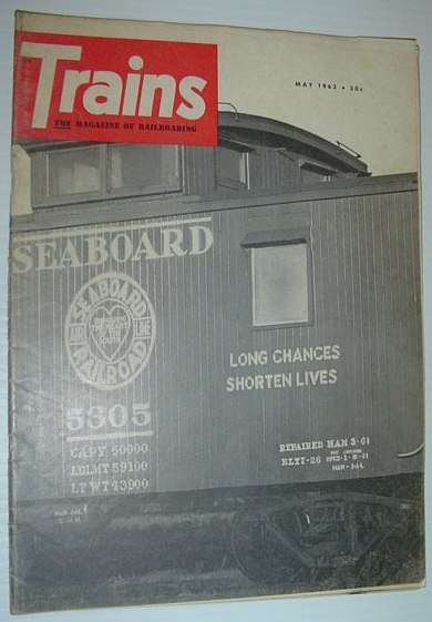 Image for Trains - The Magazine of Railroading: May 1963