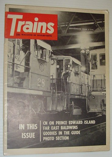 Image for Trains - The Magazine of Railroading: September, 1963