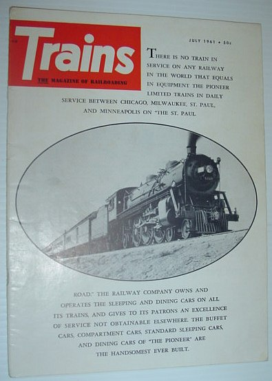 Image for Trains - The Magazine of Railroading: July, 1961