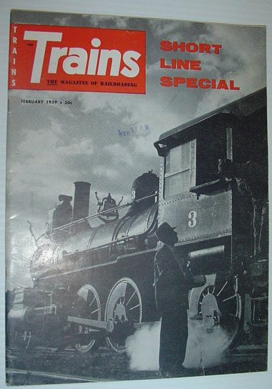 Image for Trains - The Magazine of Railroading: February, 1959