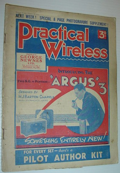 Image for Practical Wireless Magazine: November 5, 1932 - Vol. 1, No. 7
