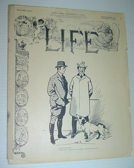 Image for Life Magazine: 9 December 1905, Volume XLVI, Supplement to Number 1206