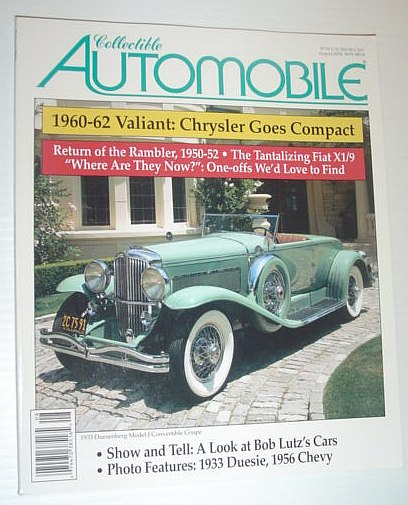 Image for Collectible Automobile Magazine - August 2004