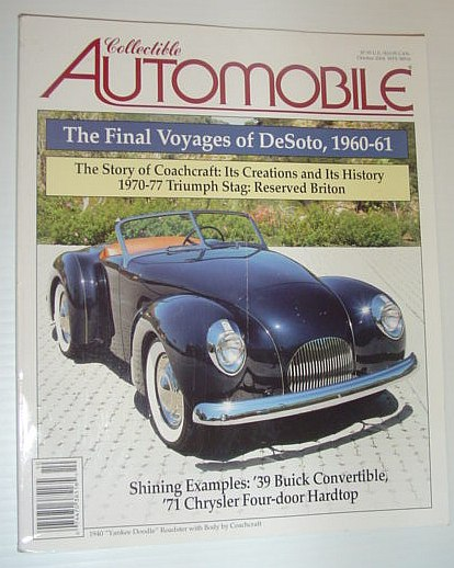 Image for Collectible Automobile Magazine - October 2004
