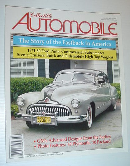 Image for Collectible Automobile Magazine - February 2005